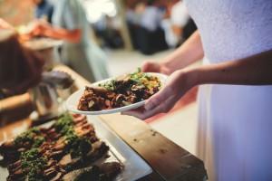 Charlotte Wedding food photo
